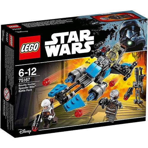 樂高LEGO星際大戰系列 賞金獵人反重力機車戰鬥包 75167
