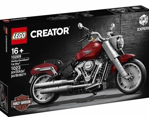 樂高 LEGO Creator Expert系列 《哈雷機車》Harley-Davidson Fat Boy 10269