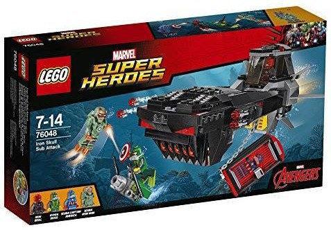 超級英雄系列 鐵骷髏潛艇攻擊 76048