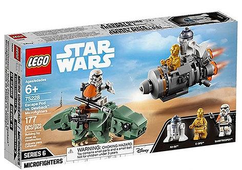 樂高LEGO 電影星際大戰系列 Escape Pod vs. Dewback Microfighters巨蜥偵查兵和機器人逃生艙 75228