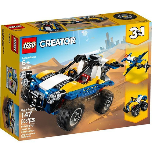 樂高 LEGO Creator系列 創意百變三合一《沙灘車》3 in1 Dune Buggy 31087