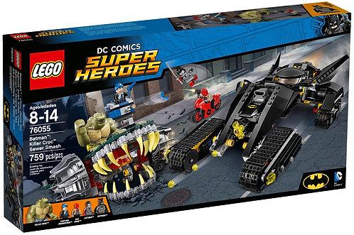超級英雄系列 蝙蝠俠:殺手鱷下水道攻擊 76055