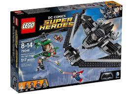 超級英雄系列 蝙蝠俠對超人 正義英雄:高空之戰 76046
