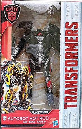 變形金剛5 孩之寶Hasbro 最終騎士 豪華人物組 巡弋戰將 Hot Rod 火爆洛迪 C2019