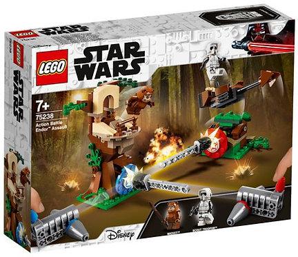 樂高 LEGO 星際大戰電影系列 《星際大戰:行動對戰 恩多突襲》Action Battle Endor Assault 75238