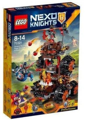樂高LEGO NEXO KNIGHTS 未來騎士 團系列《曼格瑪將軍的末日攻城車》70321