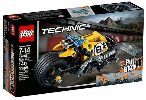 樂高 LEGO TECHNIC 科技系列 《Stunt Bike 特技摩托車 (迴力車)》42058