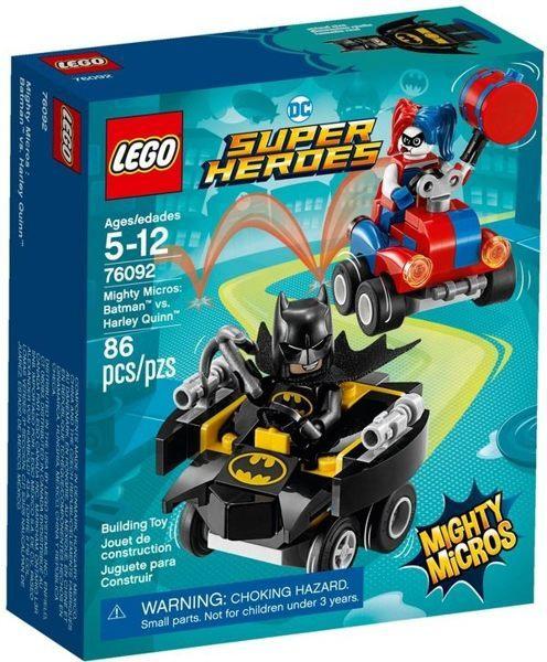 樂高 LEGO 超級英雄系列 《蝙蝠俠vs.小丑女 哈莉·奎茵 Batman vs. Harley Quinn 76092