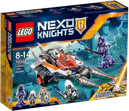 LEGO樂高 未來騎士系列《蘭斯二合一極速衝鋒車》70348