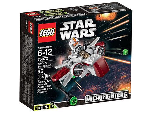 樂高LEGO 星際大戰系列  ARC-170星式戰鬥機 75072