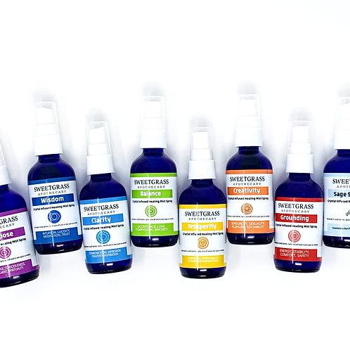 Spirit Sprays and Sage Smudge Spray Set of 8