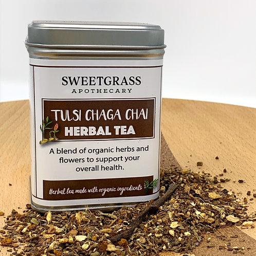 Tulsi Chaga Chai Herbal Tea