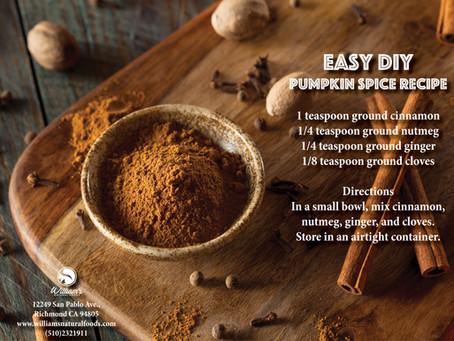 Easy DIY Pumpkin Spice Recipe