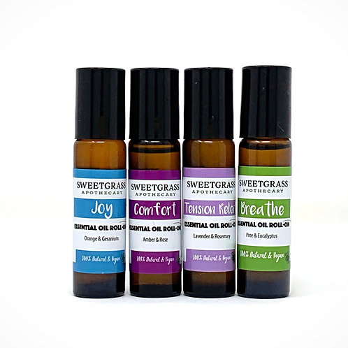 Essential Oil Roll-on Set of 4