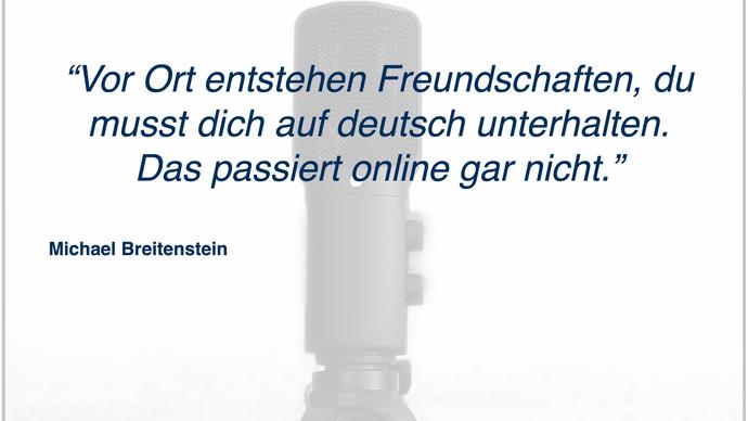 Gespräch mit Michael Breitenstein - Integration von Immigranten in schwierigen Zeiten