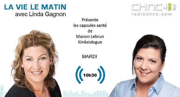 Manon Lebrun & Linda Gagnon