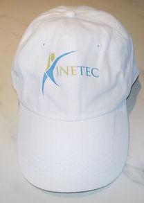 Casquette Kinetec en coton blanc ajustable