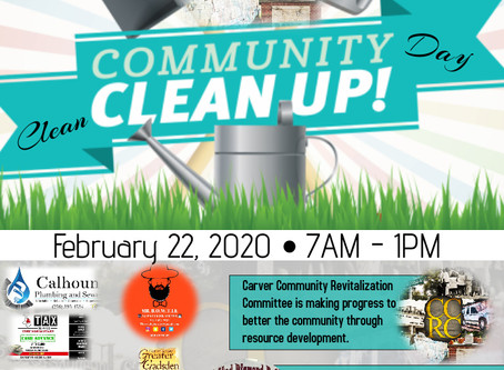 2020 Community Clean Up Day
