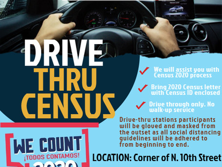 Drive Thru 2020 Census