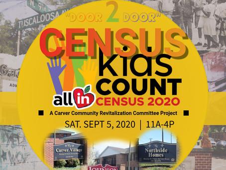 """2020 Census """"Door 2 Door"""" Event"""