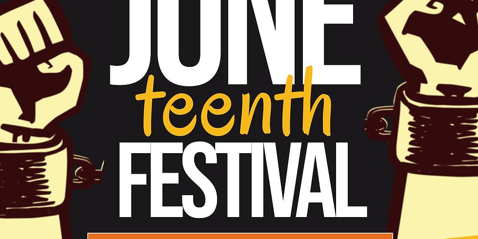 "2021 Juneteenth Celebration ""RETRO COOKOUT"""