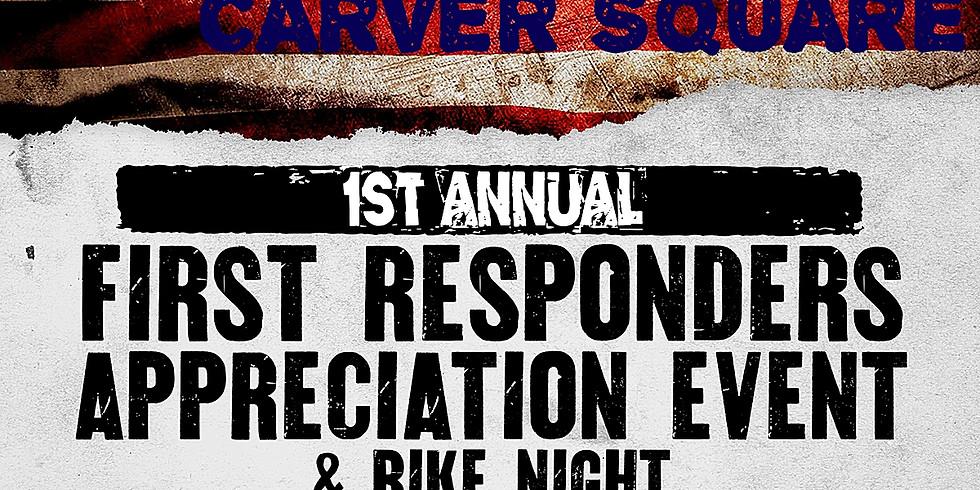 "First Saturday November 02, 5p-9p ""First Responders Appreciation"""
