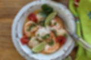 Close up Brazilian SHrimp and FIsh Stew.