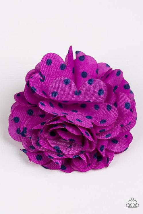 Polka and Petals Purple (C)