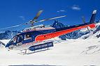 Glacier helicopter