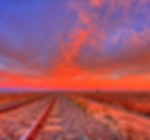 Train tracksin the Outback
