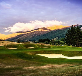 Golf course, New Zealand