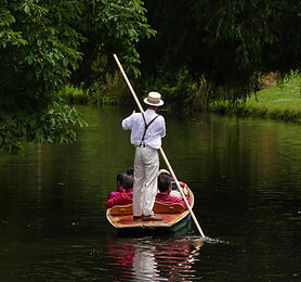 Punting on the River Avon