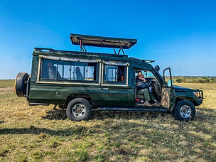 Safari transport