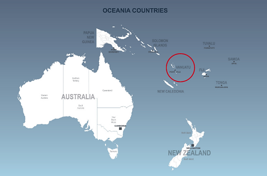 South Pacific countries