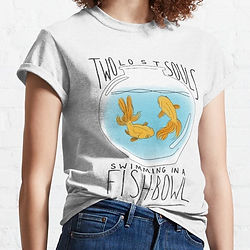Pink Floyd t-shirt, fish bowl