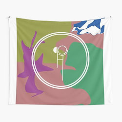 Hippo Campus tapestry