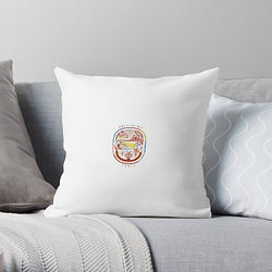 Lime Cordiale throw pillow