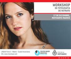 III Workshop de Fotografía – Escuela Motivarte
