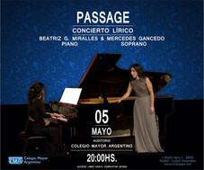 Passage – Concierto lírico