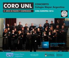 Presentación del Coro de la Universidad Nacional Del Litoral