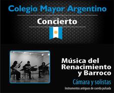 Concierto - Música del Renacimiento y Barroco