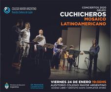 Conciertos 2020 –  Cuchicheros, música de cámara argentina