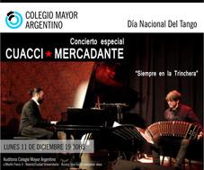 Día Nacional del Tango – Concierto Cuacci Mercadante