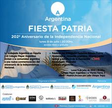Conmemoración: Día de la Independencia Nacional Argentina