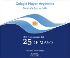 Acto del 25 de Mayo y Clausura año Académico 2016/2017