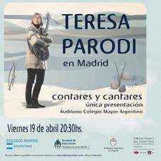 Teresa Parodi, Contares y cantares