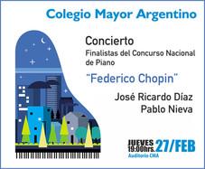 "Concurso Nacional de Piano ""Federico Chopin"""