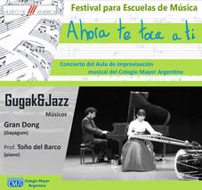 "Festival de escuelas de música ""Ahora te toca a ti"""