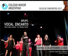 Concierto grupo Vocal enCanto