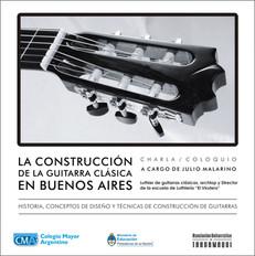 La construcción de la guitarra clásica en Buenos Aires